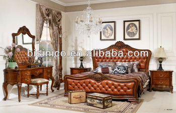 Amerikanische Schlafzimmermöbel,Amerikanisches  Luxus-antik-soild-holz-schlafzimmer-sets,Amerikanische  Elegan-möbel-schlafzimmer-set (b14036) - Buy ...