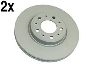 Volvo (94-04 w/11'') Brake Disc Front L+R (x2 rotors) ATE (coated)