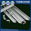 Solar panel mounting aluminum rail in Solar Energy System direct from shenyang toshine factory