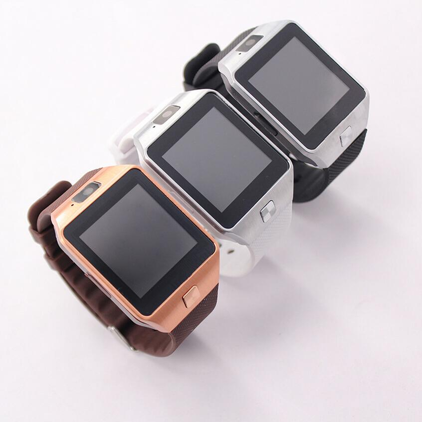 <strong>Hot</strong> sale bluetooth Black Silver Gold White color smartwatch dz09 PK a1 smart watch gt08