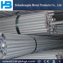 steel rebar, deformed steel bar, iron rods from tianjin factory price/building rebar Quality Control HRB400 10mm Deformed Steel