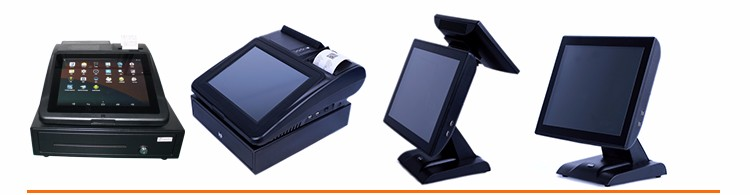 android all in one touch screen 12 inch pos machine restaurant cash register with thermal printer