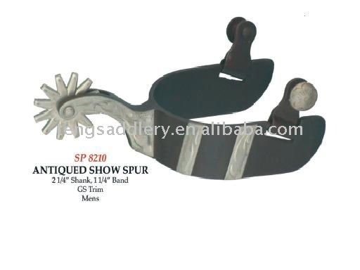 Antiqued Show Spurs Horse Equipment Spurs