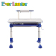 Everleader children adjustable height cartoon foldable drawing study table desk for boy