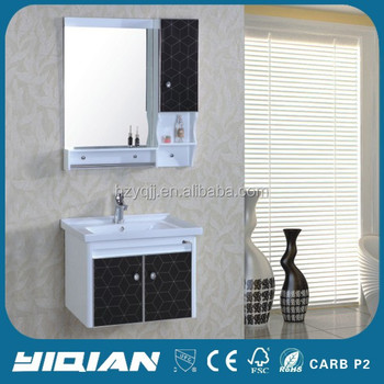 Pakistan Design Wall Mounted Corner Bathroom Mirror Cabinet