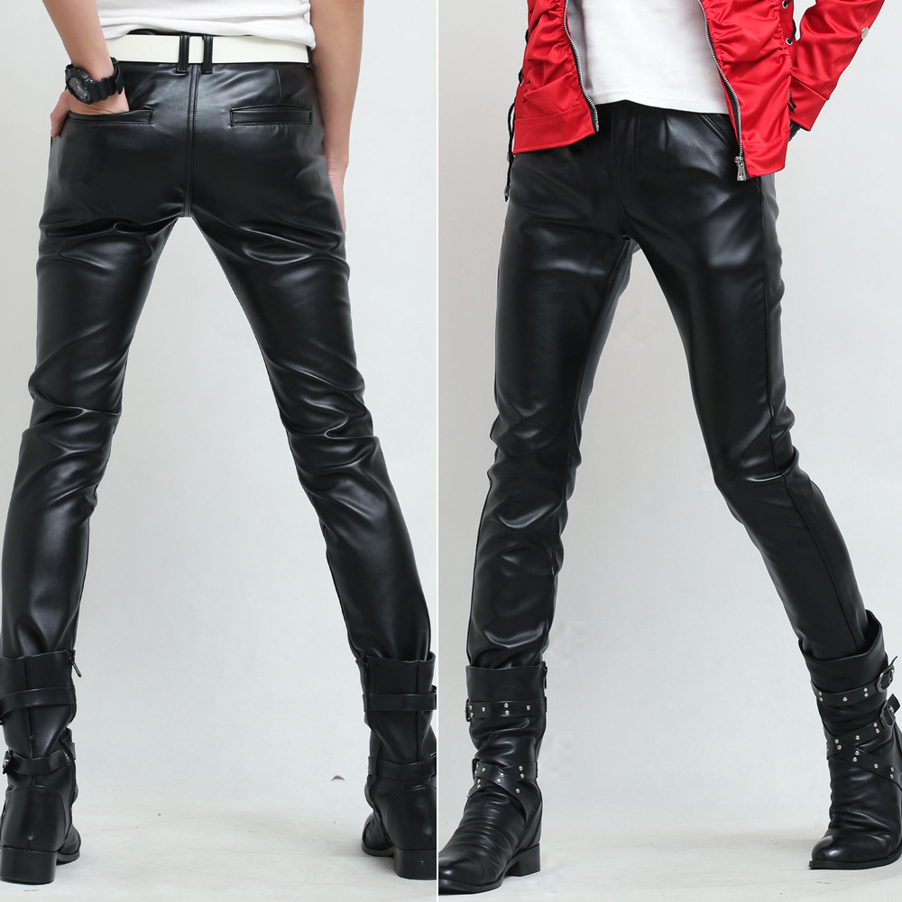 See all results for mens leather skinny jeans. Idopy Men`s Stretchy 5 Pockets Biker Faux Leather Jeans Skinny Pants. by Idopy. $ - $ $ 17 $ 27 99 Prime. FREE Shipping on eligible orders. Some sizes are Prime eligible.
