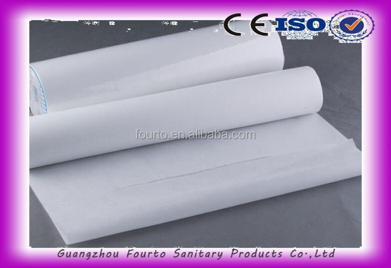 Nonwoven Disposable Sanitary Couch Bed Sheet In Roll
