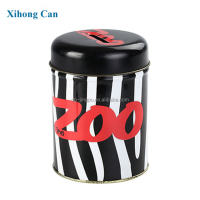 Lovely coin bank tin can for children gift with custom printing and logo