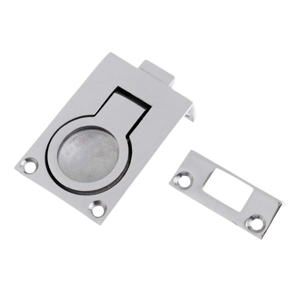 Stainless Steel Boat Hatch Locker Cabinet Lift Pull Ring Handle Practical Useful