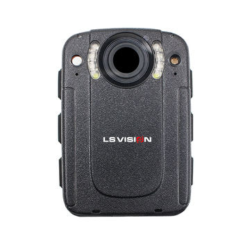 LS VISION Mini Onvif Audio Recording Security Guard Body Worn Camera Support HDMI port and AV-IN port Long Time Work Battery