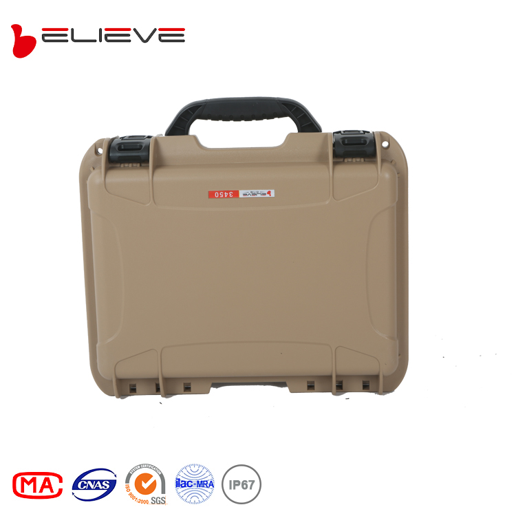 BELIEVE 3450 military transport waterproof protective hard <strong>plastic</strong> laptop <strong>case</strong>