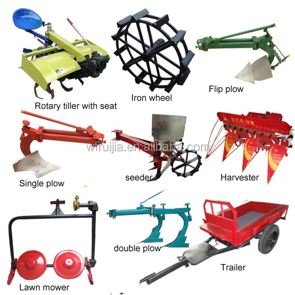 Chinese Agriculture Machinery Mountain Tractor,Single Cylinder ...