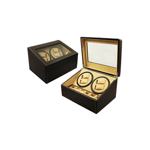 Wholesale Custom LOGO Mabuchi Automatic Leather Watch Winder