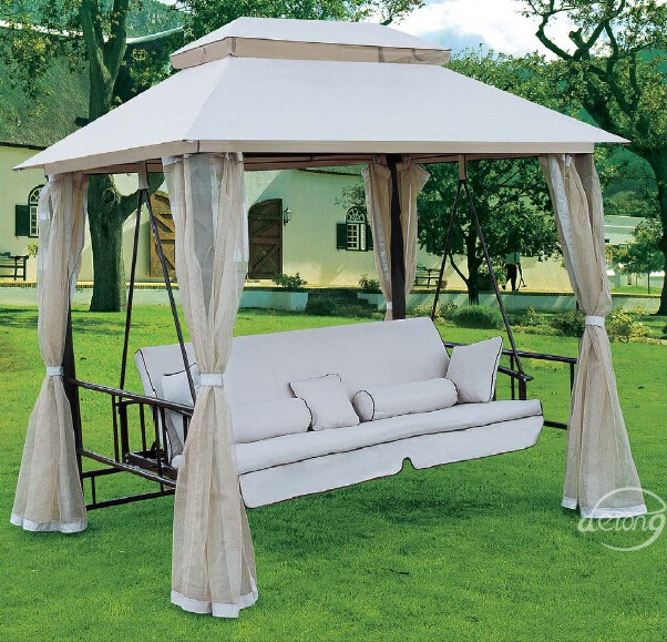 hei er verkauf derong gartenm bel schaukel garten terrasse luxus schaukel bett billig eisen. Black Bedroom Furniture Sets. Home Design Ideas