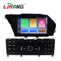 Touch screen Android 9.0 2+16g Car DVD Video player For mercedes benz glk with reversing camera