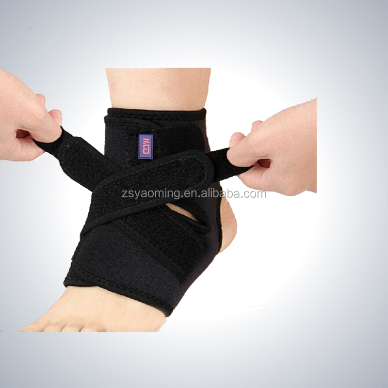 Comfortable neoprene ankle protector brace/ankle wraps/ankle support