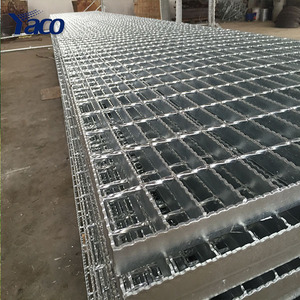 Factory priceQ235 25mm 30mm 32mm 40mm building materials galvanized steel grating for platform road drainage