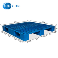 With wholesale price cheap stackable hygienic plastic pallets 1200*1200*150