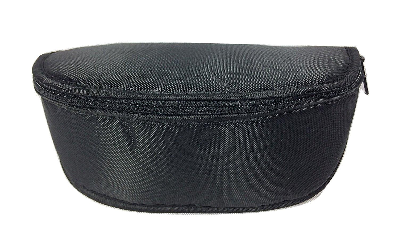 3d03ee2b695b Get Quotations · TarrantTech Eyeglass   Sunglass Case with Zipper   Belt  Loops for Men   Women - Black