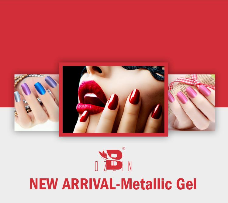 new product for nail design metallic gel polish uv gel nail polish ...