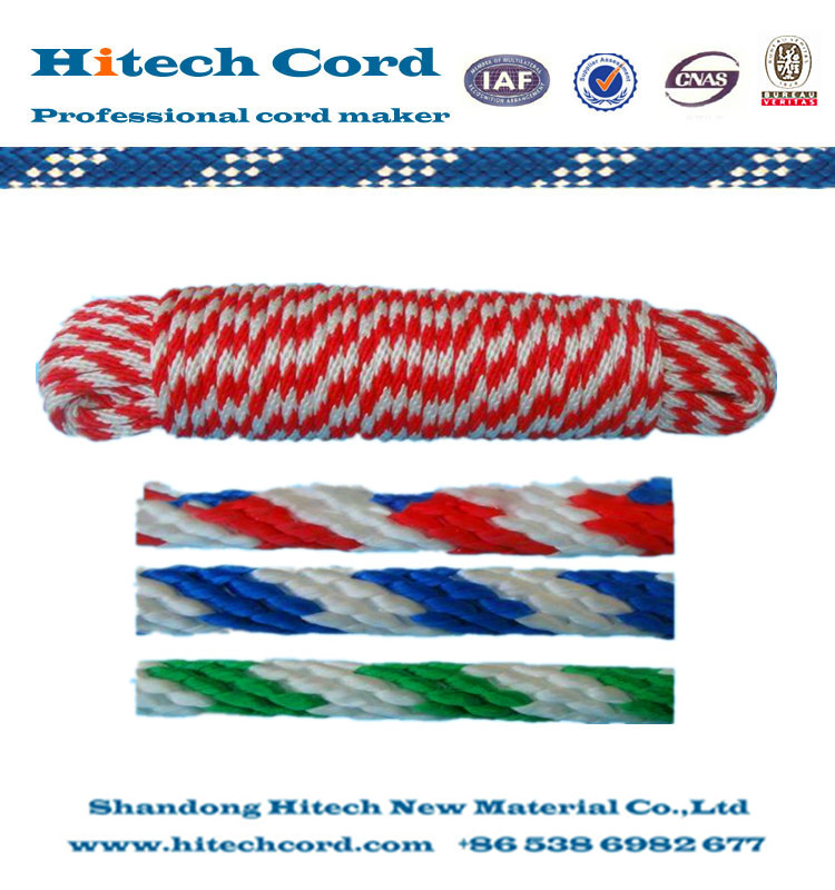 1/2 inch 12 strands PP Multi purpose Solid Braided Rope
