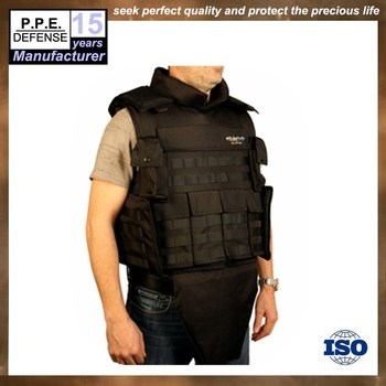 Tactical bulletproof vest with groin protection supplies