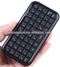 whole sale mini bluetooth keyboard for iphone4 and ipad