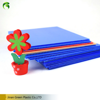 Green Plastic 6mm Corrugated Sheet Price For Decoration