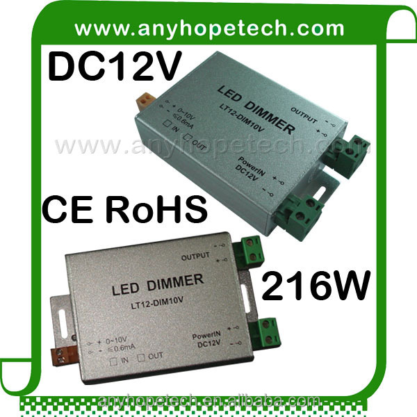 Newstyle Dc12v 18a High Power Led Dimmer Switch