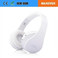 High Quality Stereo Sound Blue tooth 3.0/4.0 Headset bests Studio wireless stereo headphone with sd card slot