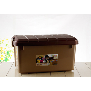 High quality plastic large capacity trunk/ car storage box