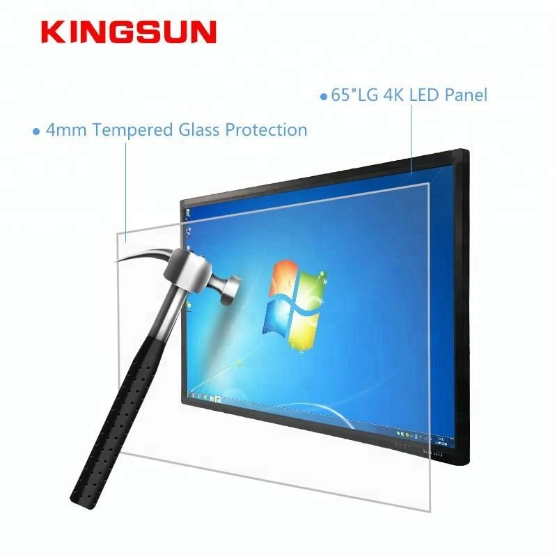 65 Inch 4k Led Display Monitor Large Touch Screen All In One Pc Smart Tv -  Buy Touch Tv,Large Touch Screen All In One Pc,4k Led Display Monitor