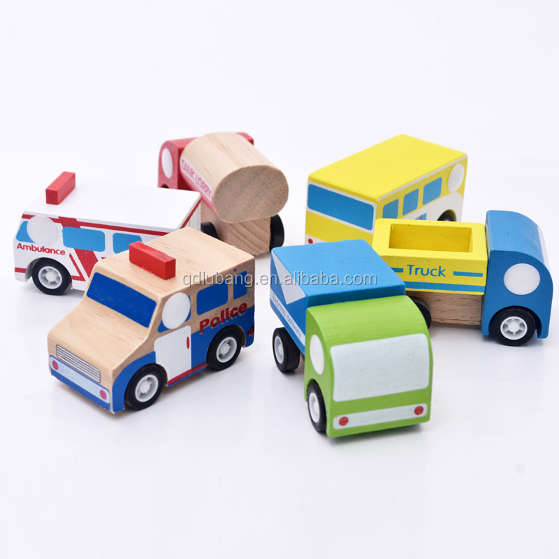 Wooden Made In China Mini Kids Children Baby Car Toys For Boys Girls