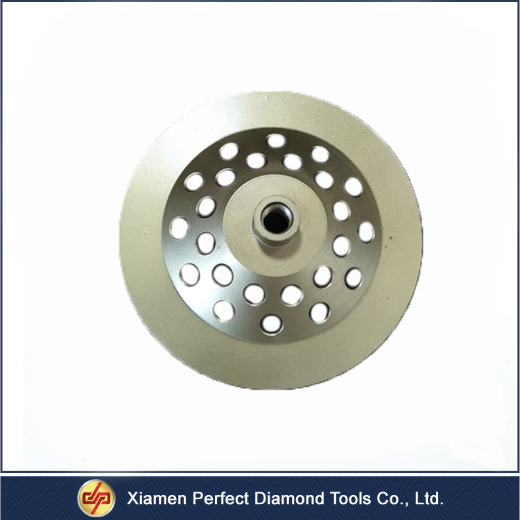 CPJ-0014 7 inch Pcd Type Diamond for Concrete Cup Grinding Wheel