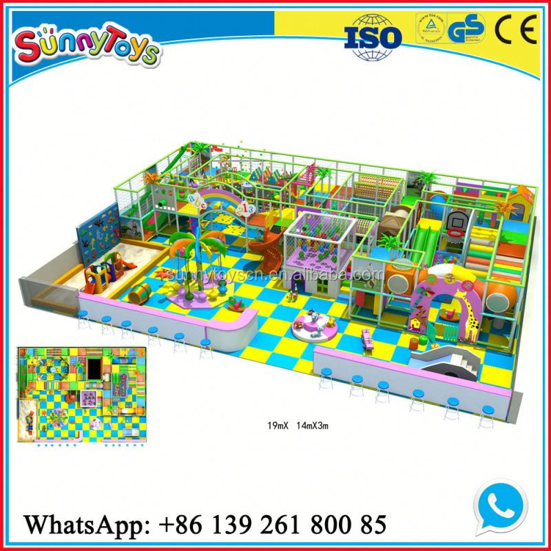 Outside play equipment for kids design indoor video game for indoor playground