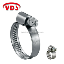German stainless steel air compressor hose pipe clamp clip