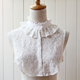 NEW Women Fake Half Shirt Blouse Vintage Detachable Lace False Collar