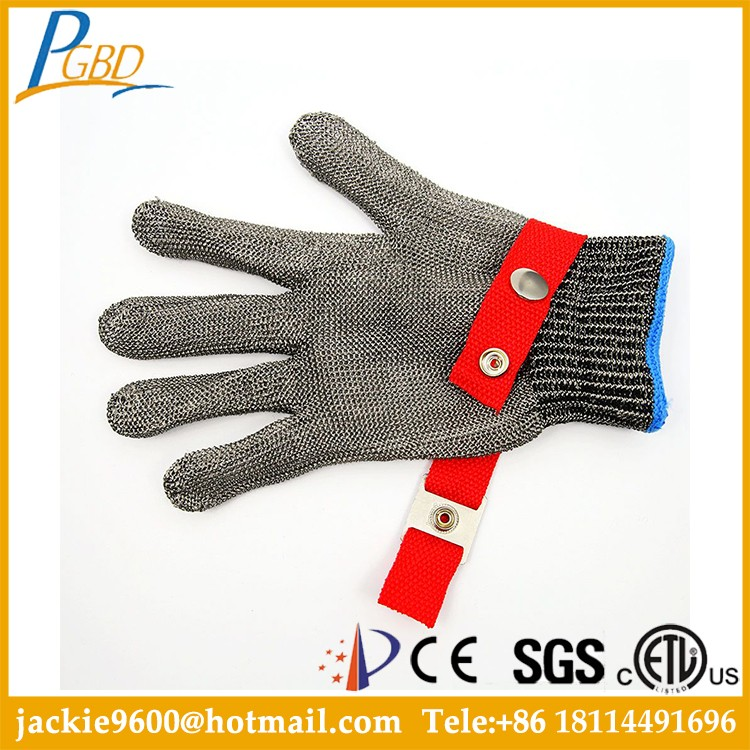 Pu China Resistant Gloves Industrial Cut-resistant Safety Gloves Ce Leather Cutting Mechanical