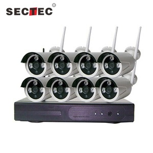 8 Channel Wifi 1080p Ip Camera Nvr Cctv Wireless Camera System 8ch Wifi Nvr Kits Wifi Nvr Kits Cctv Kit High Quality 8 Cameras