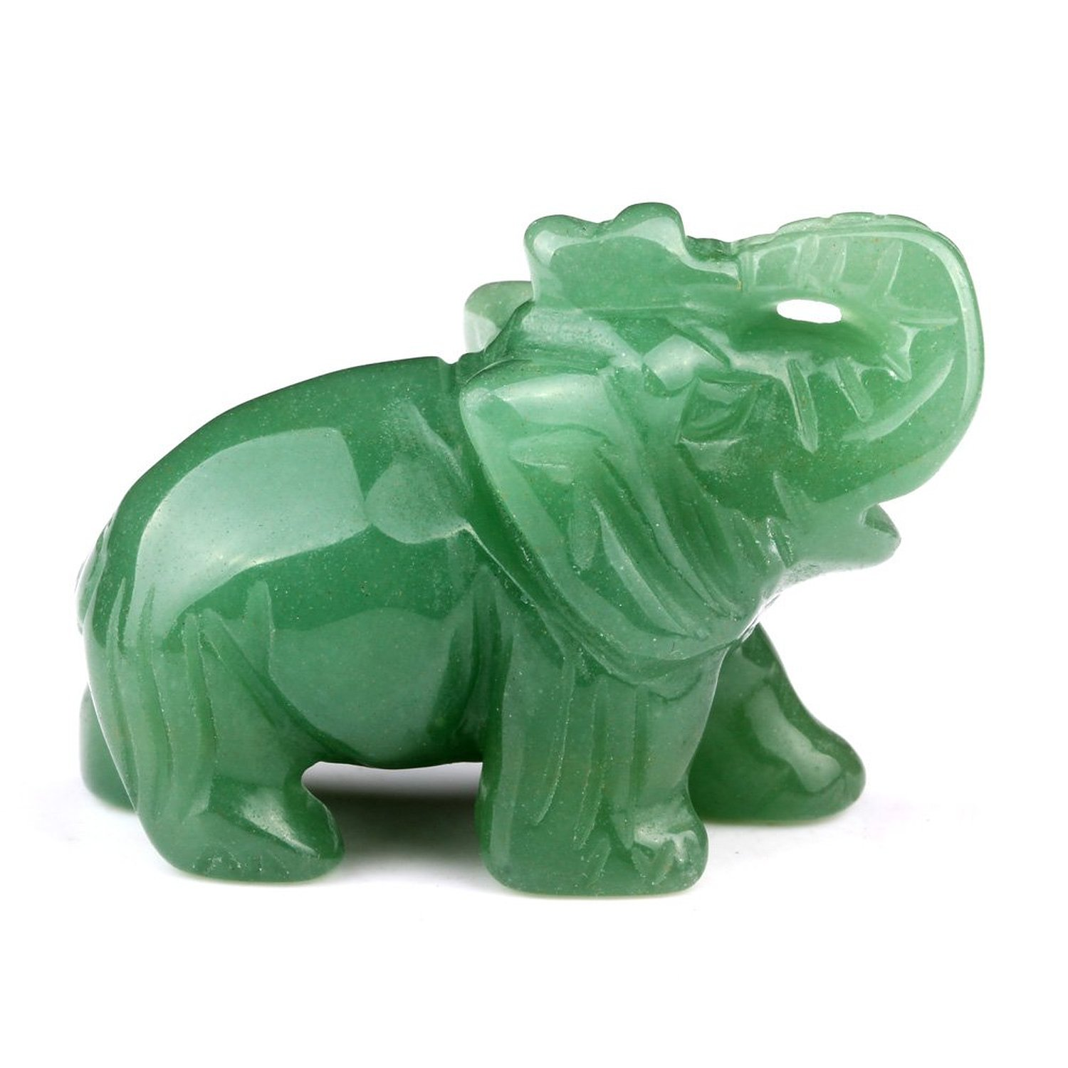 Cheap elephant good luck find elephant good luck deals on line at amulet green quartz elephant gemstone carving good luck powers pocket or desk totem good luck charm biocorpaavc