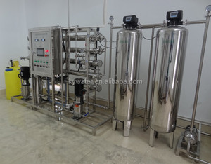 1000LPH two stage full stainless steel auto DI water system for pharmaceutical water deionizer price