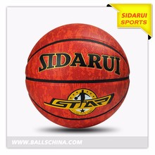 High quality Cheap Price teenager Mini PU Soft Leather Basketball for Youth