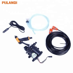 Portable spray car washing machine high pressure 12v dc water pump car washer