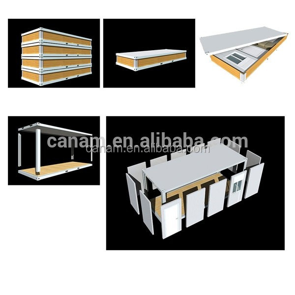 CANAM- fireproof and heat insulation two storey boarding house plans