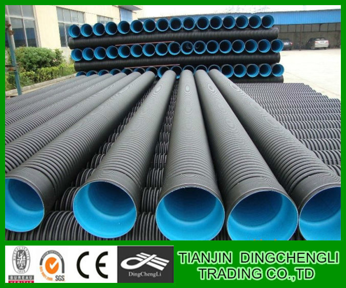 Pe Spiral Corrugated Hdpe Pipe/hdpe Tubes/hdpe Pipe 1 Inch
