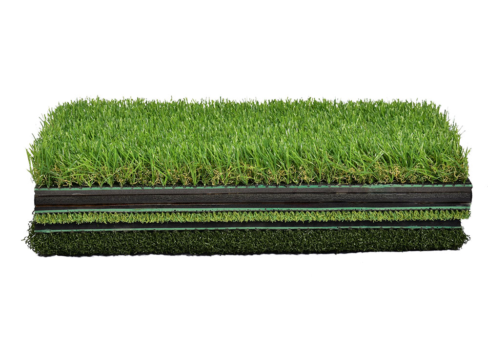 Mini portátil golf putting green mat 3 em 1 dobrável tapete relvado