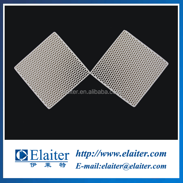 Industrial porous ceramic filter, straight channel honeycomb filter for iron casting foundry