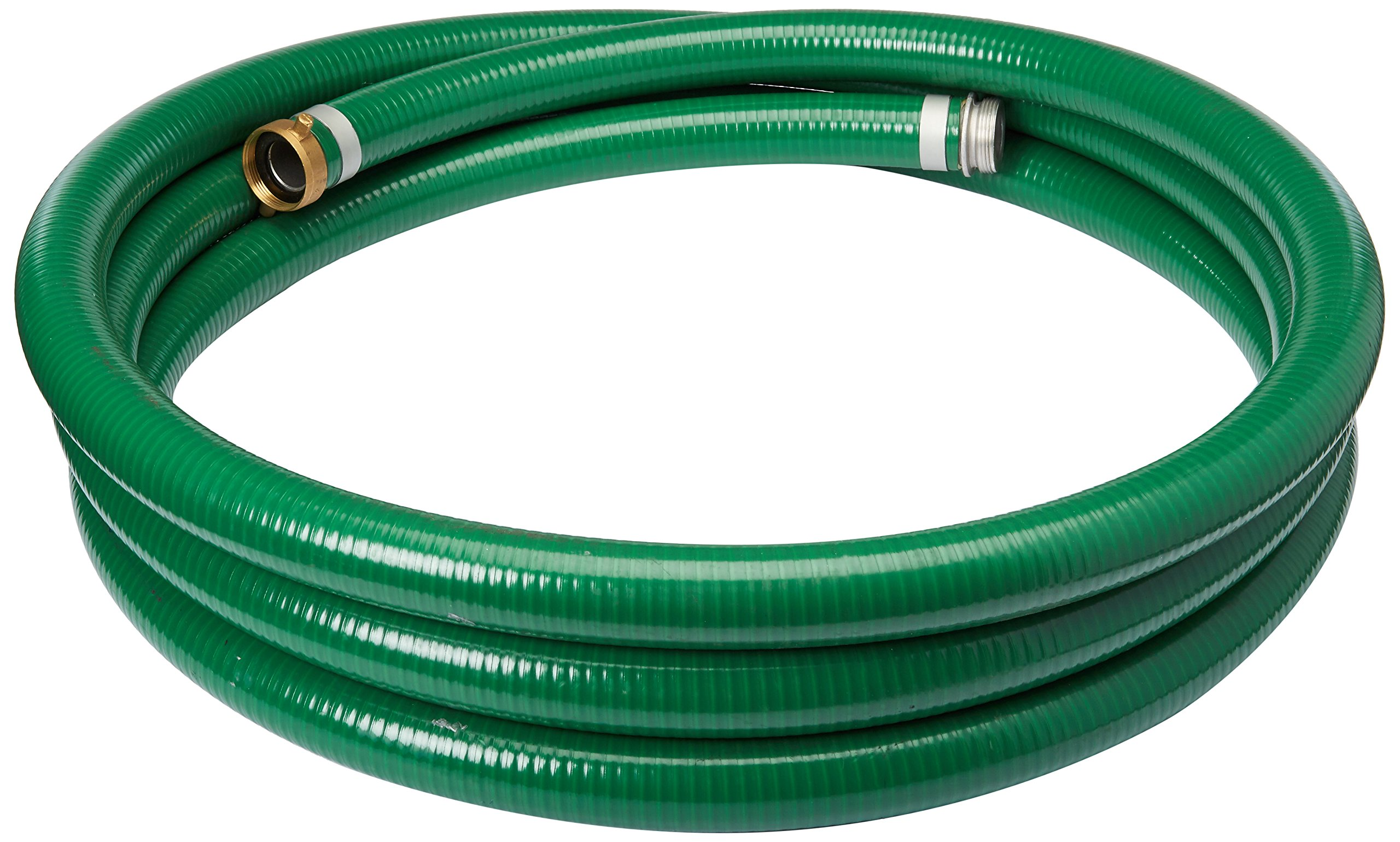 65 psi Max Pressure Abbott Rubber PVC Suction Hose Assembly 2 ID 2 Female Cam and Groove X Male NPT 20/' Length 2 ID 1240-2000-20-CN 20 Length 2 Female Cam and Groove X Male NPT Green