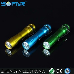 Camping Using 10 Color LED Flashlight Wholesale