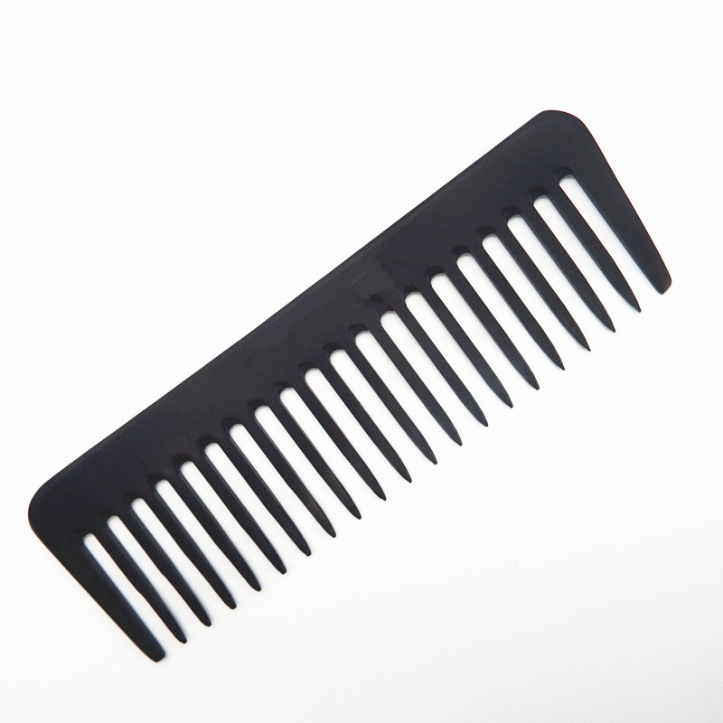 High Quality Carbon Fiber Hair Trim Comb With Wide Teeth